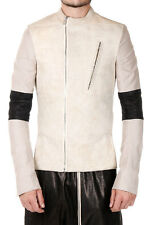 RICK OWENS MOODY Man Leather Biker Jacket New with Tags and Original