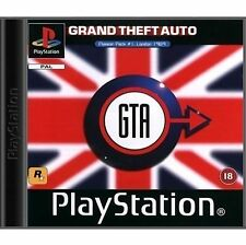 Grand Theft Auto: London 1969 Sony PlayStation 1 Perfect disc. COLLECTORS ITEM