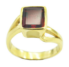 Ruby CZ Gold Plated Ring sexy Red jewelry AU K,M,O,Q