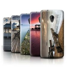 STUFF4 Phone Case/Back Cover for HTC Desire 700 /English Seaside
