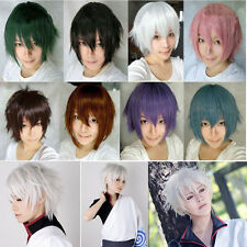 New Fashion Cosplay Full Wig Short Wavy Synthetic Hair Costume Party Fancy Wigs
