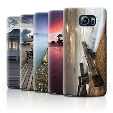 STUFF4 Phone Case/Back Cover for Samsung Galaxy Note 5/N920 /English Seaside