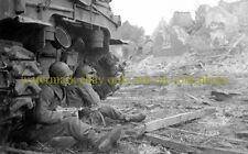 9th Infantry Division Germany 1945  Photo Military WWII U.S Army TANK