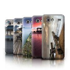 STUFF4 Phone Case/Back Cover for Samsung Galaxy Advance /English Seaside