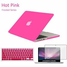"Matt Hard Case Shell +Keyboard Cover for Apple Macbook Pro 13/15"" Air 11/12""inch"