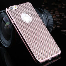 Luxury Stylish Electroplated Dotted Case  RoseGold For iPhone6 Plus {[kx62