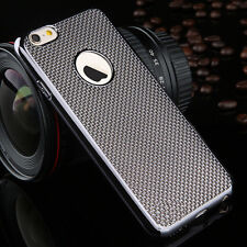 Luxury Stylish Electroplated Dotted Case Cover Grey For iPhone 6 6s {[lz210