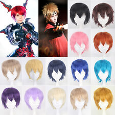 Hot sale Anime Unisex Cosplay Full Wig Short Heat Resistant Hair Costume Wigs 6#