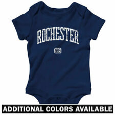 Rochester 585 New York One Piece - Baby Infant Creeper Romper NB-24M - Red Wings