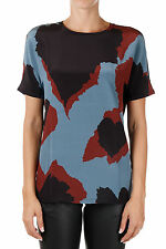 GUCCI New woman T-shirt Round Neck Short Sleeve Printed Tee Made in Italy NWT