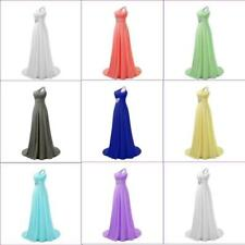 Fashion Prom Evening Dress Long Bridesmaid Wedding Party Cocktail Gown Hot Sale