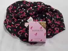 Breast cancer scarf (promise me Perfume 18ct gold layered tac pin Pink