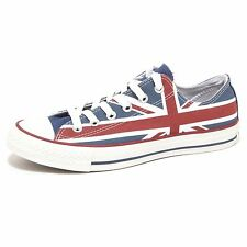7317P sneaker CONVERSE ALL STAR rosso/blu scarpa donna shoe woman