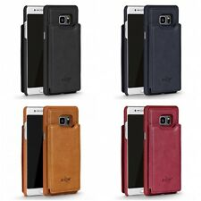 For Samsung Galaxy J3 2017 J327P Wallet Sleek Designer Leather Case Card Slots