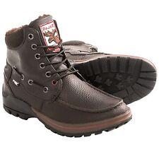 New Men`s Pajar Bolle Lined Boots Waterproof Insulated Brown US 8 MSRP$160