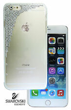Scatter Case Cover For 5.5 Apple iPhone 7 Plus made W Swarovski Clear Crystals