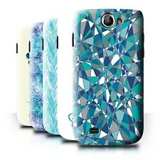 STUFF4 Back Case/Cover/Skin for Samsung Galaxy W/I8150/Teal Fashion
