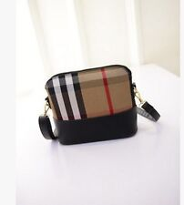 Women Spring Interior Zipper and Slot Pocket  Lattice Shell Mini Shoulder Bag