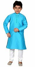 Boys Teenager Kurta Pajama Indian pakistani kids sherwani suit shalwar kameez
