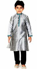 Party wear Boys Kurta Pajama Indian pakistani kids sherwani suit shalwar kameez