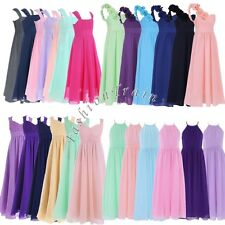 Girl Flower Lace Bridesmaid Formal Party Princess Prom Wedding Christening Dress