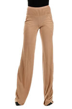 RICK OWENS LILIES New Woman Beige Cotton Blend Pants Trousers Made Italy