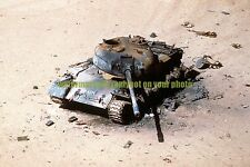 Iraqi T-55 Main Battle Tank Color Photo Military Operation Desert Storm Army
