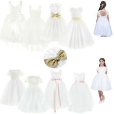 Flower Girl Kid Pageant Communion Formal Party Wedding Bridesmaid Princess Dress