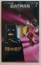 The Lego Batman Movie with Robin Light Switch Outlet Cover Plate Home Decor