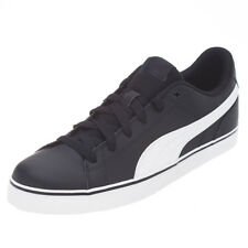 Puma Mens Court Point Vulc V2 Shoes  in Black