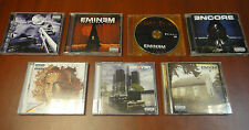 EMINEM 6 CDs+DVD SLIM SHADY LP/SHOW/ENCORE/REFILL/RECOVERY/MARSHALL MATHERS LP 2