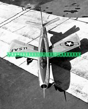 USAF Republic XF-91 Thunderceptor Photo Military Air Force XF 91 Fighter Jet
