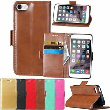 New Flip Leather Wallet Cards Stand Magnetic Case Cover For Apple iPhone 5 5G 5S