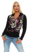 IRON FIST WOMEN'S SWEATSHIRT HOODY Sweater Jacket Dead crazy hoody