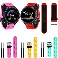 Soft Silicone Strap Band with Tool For Garmin Forerunner 235 630 230 GPS Watch