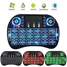 Backlight i8 2.4G Wireless Mini Keyboard Air Mouse Touchpad for PC/Mac Android