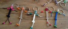 skull bead keychains handmade wholesale lot handcrafted skull paracord keychain