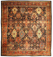 Oversized Antique Persian Bidjar Rug (size adjusted) BB0688