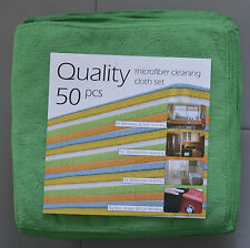 50pc Microfiber Cleaning Cloth Car Detailing Towel Set Detailing Best Quality
