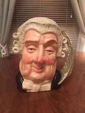 The Lawyer Character Jug by Royal Doulton
