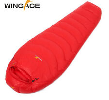 1500-2200g outdoor ultralight camping Sleeping bag mummy duck down sleeping bag