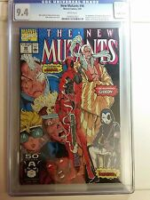New Mutants #98 CGC 9.4 KEY White Pages (1st Deadpool) Marvel Comics 1991