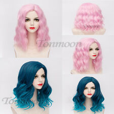 Lolita Cosplay Wig Shoulder Length Fancydress Costume Hair Women wavy Party Lot