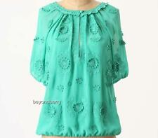 NEW Anthropologie LeifNotes Windflower Blouse  Size 0-4-8