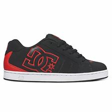 DC Shoes Net Black Red Mens Trainers