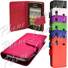 Samsung Galaxy Ace S5830 GT-S 5839i PU Leather Wallet Flip Phone Case Cover