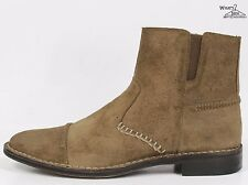 """Aston Grey """"Bryden"""" Tope Suede Distressed-Look Boots Sz. 11.5 M"""