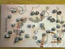 "Authentic Pandora Sterling Silver  ""Pick Your Choice"" Charms - $44.99 EA"