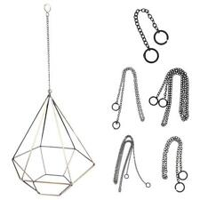Metal Chain Flower Pot Hanging Hooks Planter Decor for Hanging Succulent Box