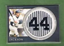 2012 Topps Retired Number Patch Reggie Jackson #RN-RJA